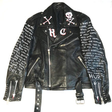 Romantic Bastard Custom Vintage Leather Jacket