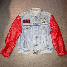 Vintage Levi's Denim & Leather Jacket