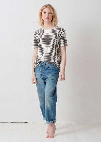 Isabelle in Stripe.  Not Monday.