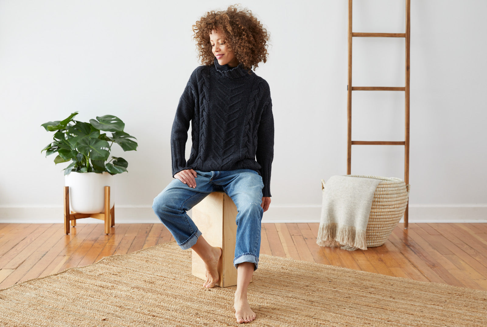 Not Monday.  Premium Cashmere Women's Sweaters and Tees.