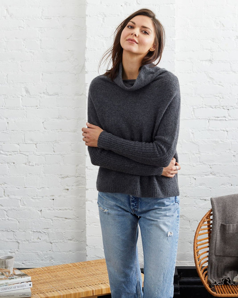 Abigail Cloud Cashmere Pullover - Not Monday