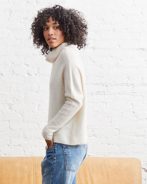 Load image into Gallery viewer, Abigail Cloud Cashmere Pullover - Not Monday