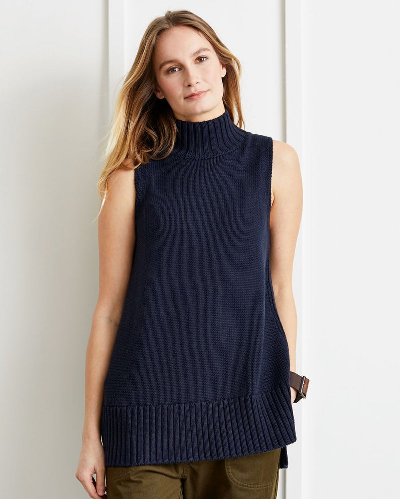 Anna Sleeveless Turtleneck Sweater - Not Monday