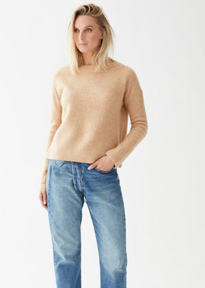 Audrey Pullover Camel - Not Monday
