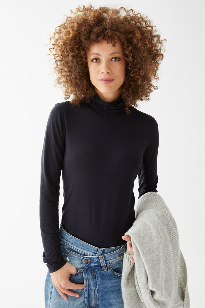 Carly Turtleneck Tee - Not Monday