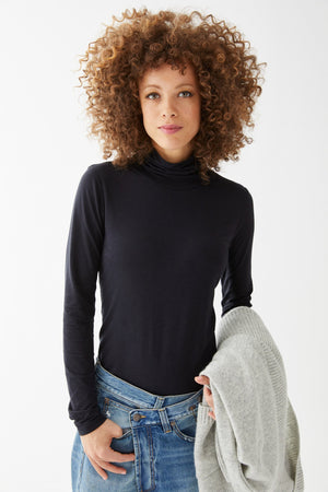 Load image into Gallery viewer, Carly Turtleneck Tee - Not Monday