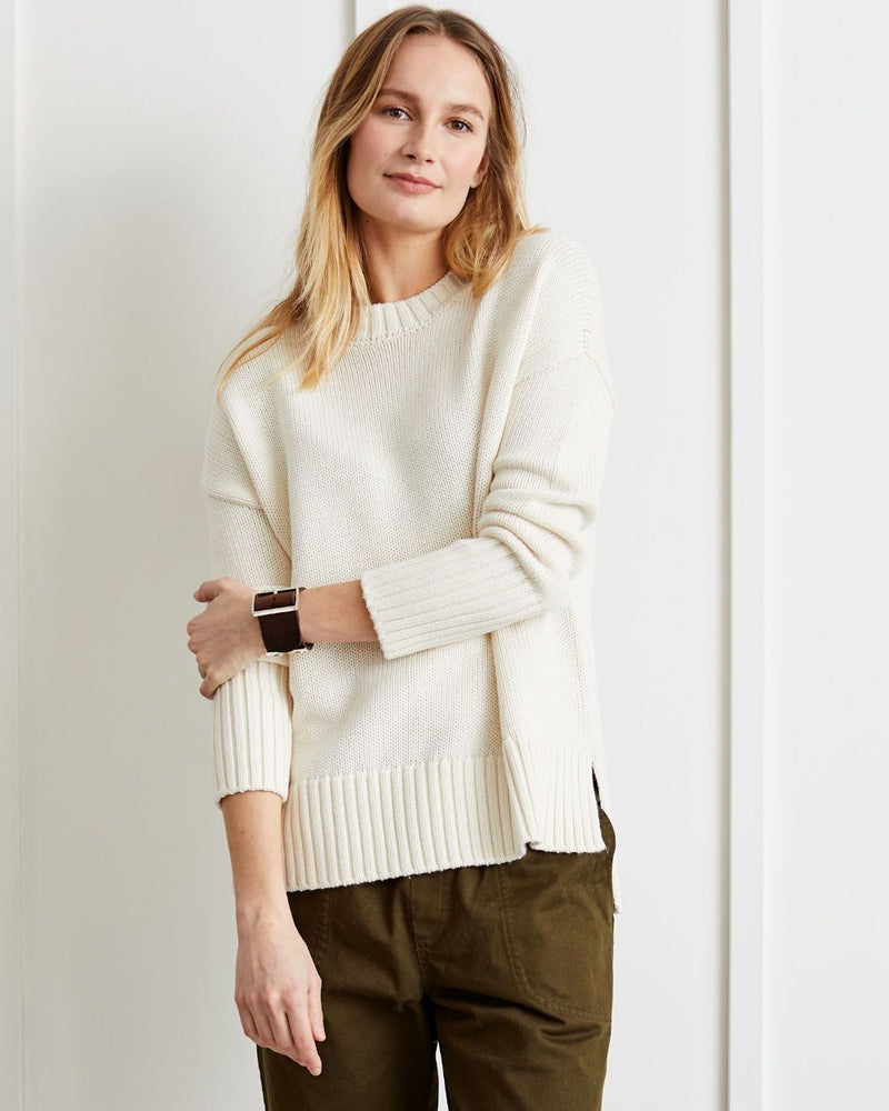 Chloe Relaxed Crewneck Sweater - Not Monday