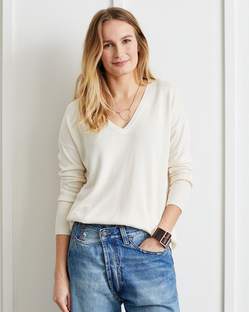 Elliott V-neck Sweater - Not Monday