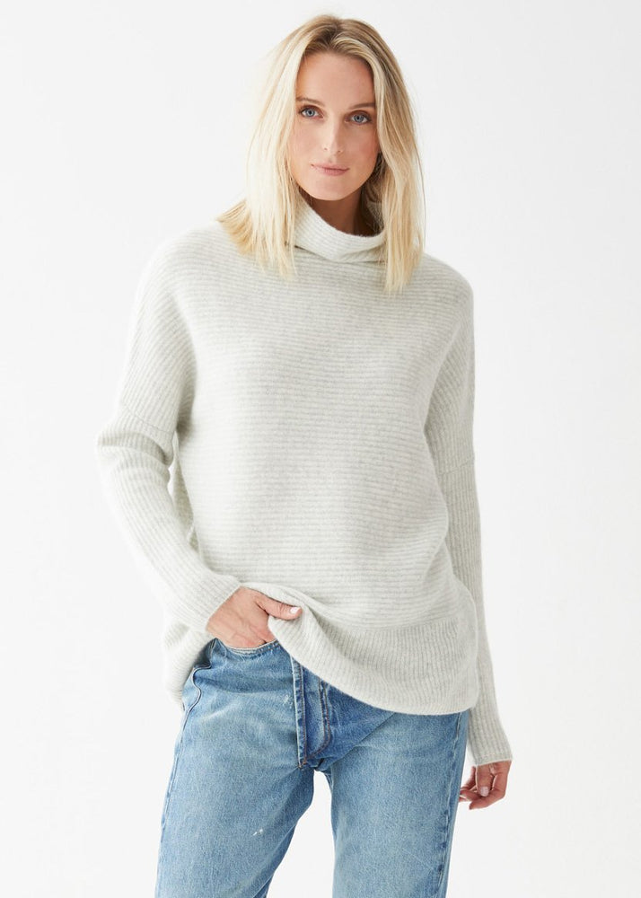 Grace Turtleneck Cloud Heather - Not Monday