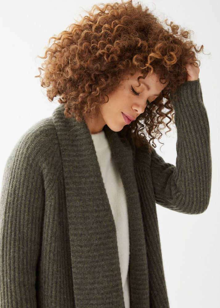 Harper Cardigan Olive - Not Monday