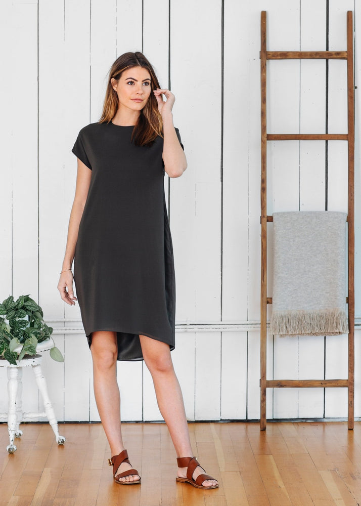 Load image into Gallery viewer, Madison Dress Olive - Not Monday