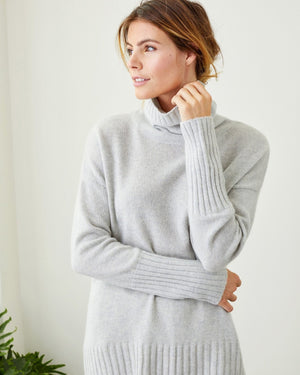 Load image into Gallery viewer, Olivia Cashmere Turtleneck - Not Monday