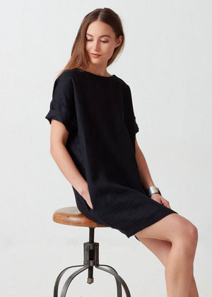 Peyton Linen Dress - Not Monday