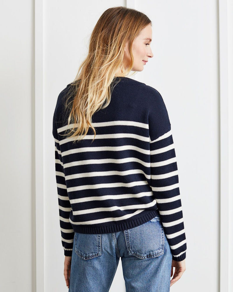 Piper Stripe Sweater - Not Monday