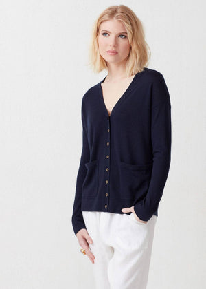 Load image into Gallery viewer, Quinn Cashmere Cardigan - Not Monday