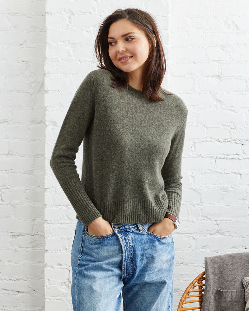 Load image into Gallery viewer, Riley Cashmere Crewneck - Not Monday