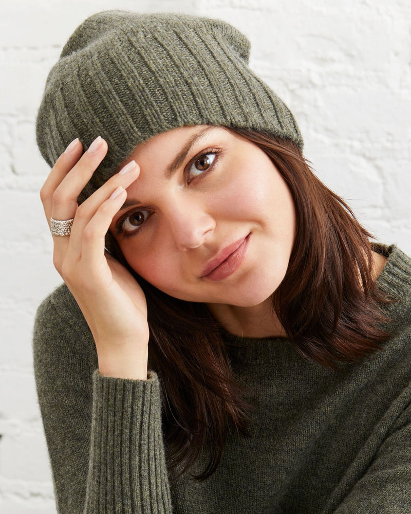 Stella Cashmere Beanie - Not Monday