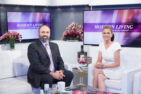 John Zannis MD with Kathy Ireland for Rinnova Skincare