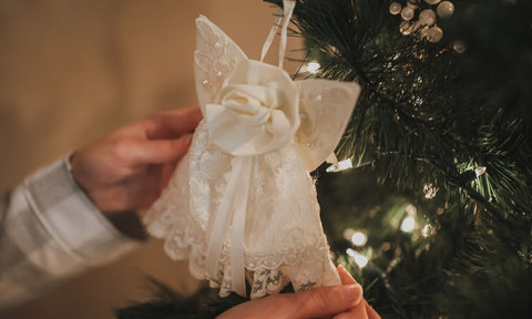 Inspired 2019 Holiday Gifts made from Your Wedding Dress