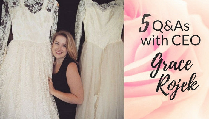 Young Entrepreneur Gives Wedding Dresses New Life
