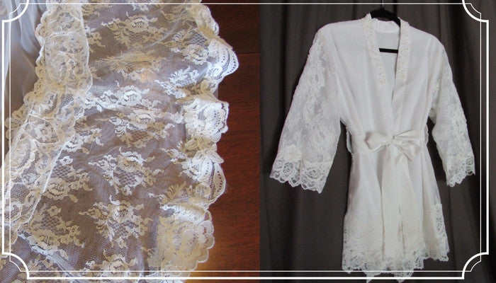 "How Do We Design a ""Getting Ready"" Bridal Robe?"