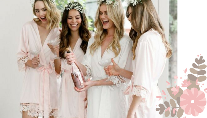 Photographing Your Big Day: Bridal Robe Photo Ideas
