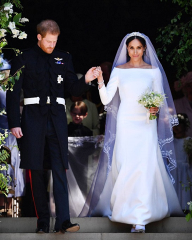 052828982f2 Prince Harry and Meghan Markle s wedding of the decade fueled the  inspiration for many designers and fashion houses. The look that derived  from this was ...