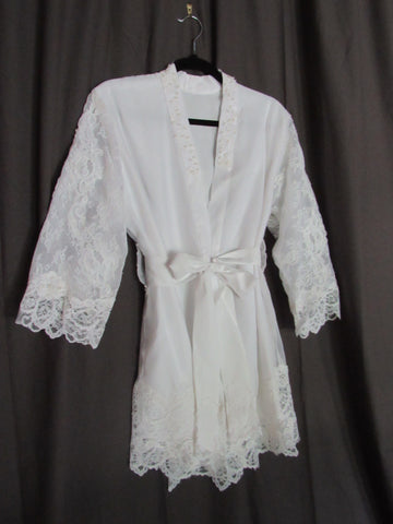 Getting Ready Bridal Robe