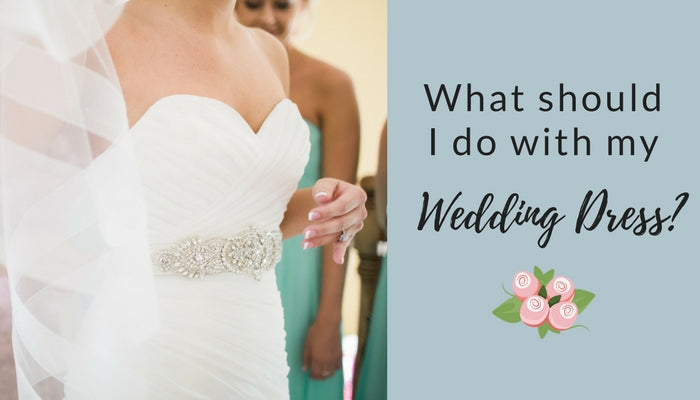 What to do With Your Wedding Dress After the Big Day – Unbox the Dress