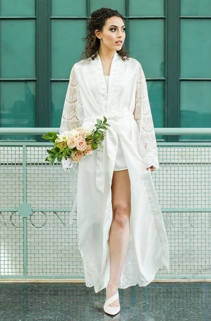 Kathleen Floor Length Robe