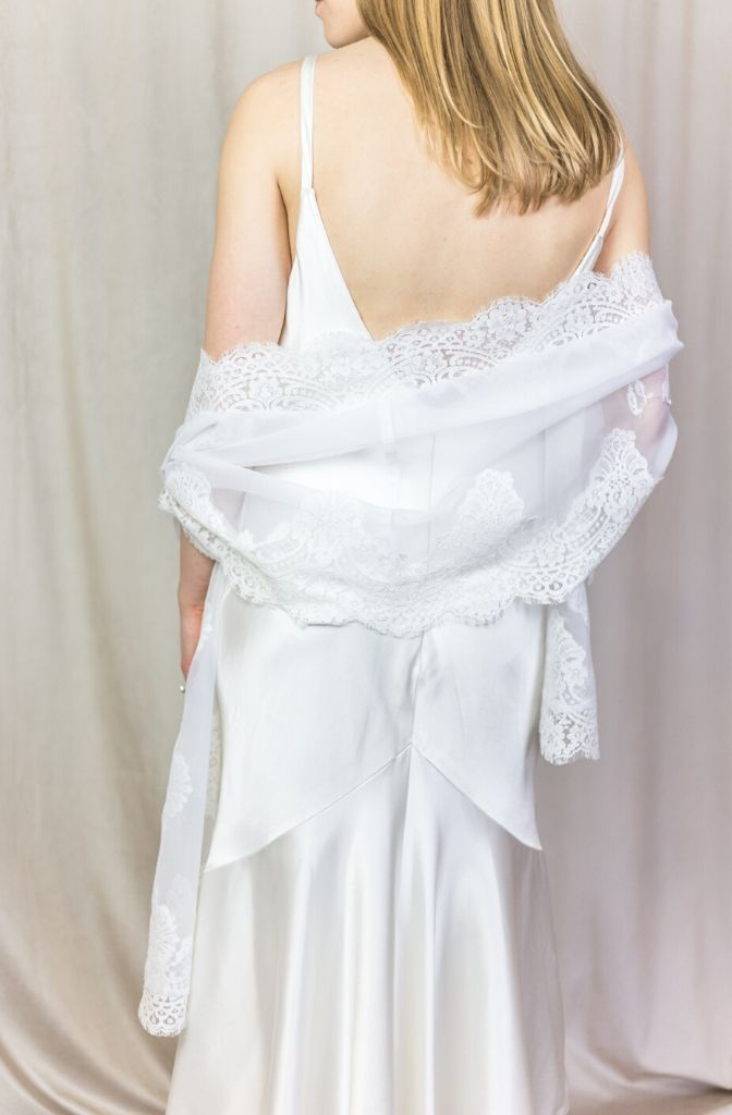 Wedding Bells Bridal Wrap