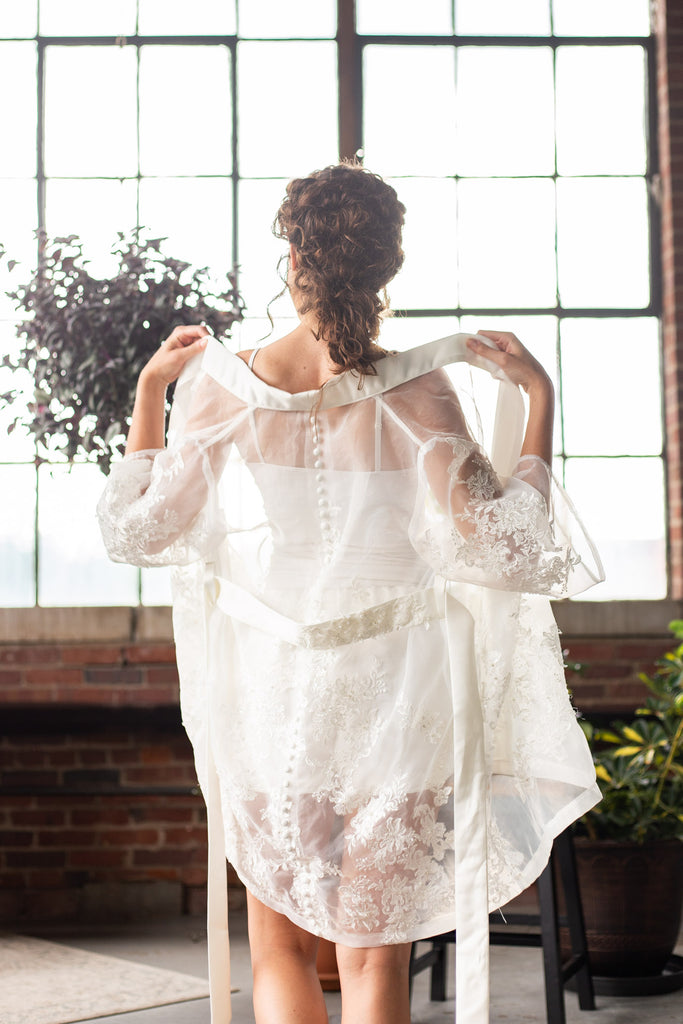 Sheer Anniversary Robe