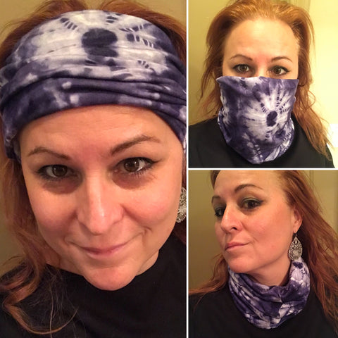 all in ones face gators headband scarves