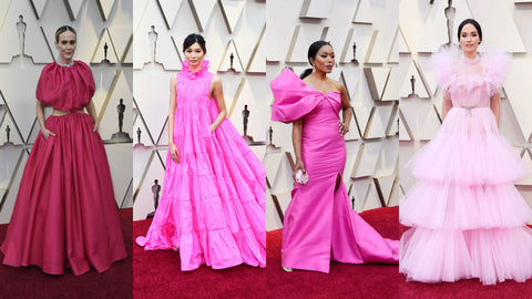 pink trend at the Oscars