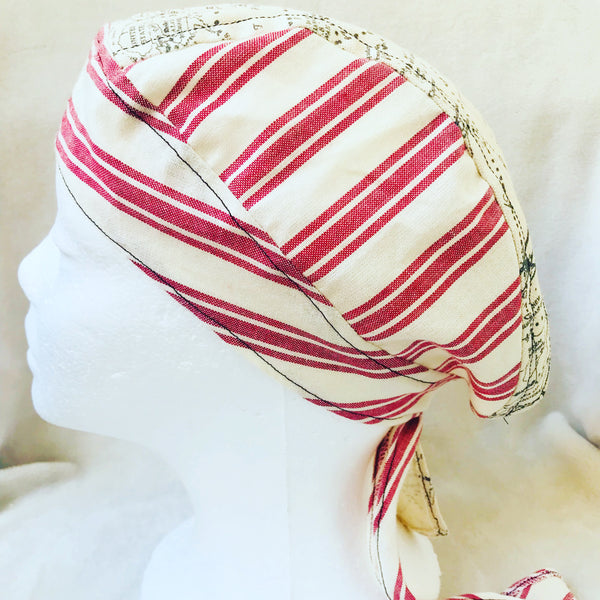 Nautical theme durag hat unisex
