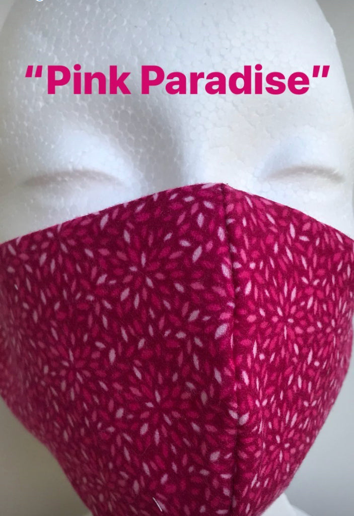 """Pink Paradise"" Protective Face Mask"