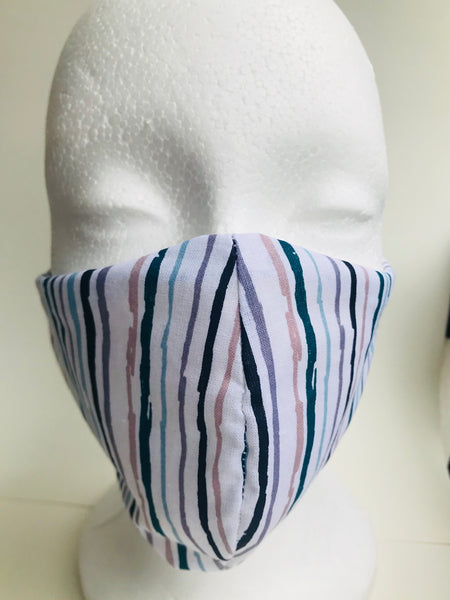 Lucky Stripes-Protective fabric Mask