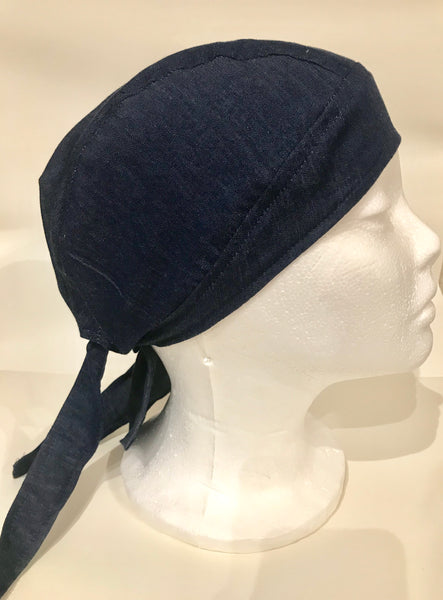 Light Denim Unisex biker hat