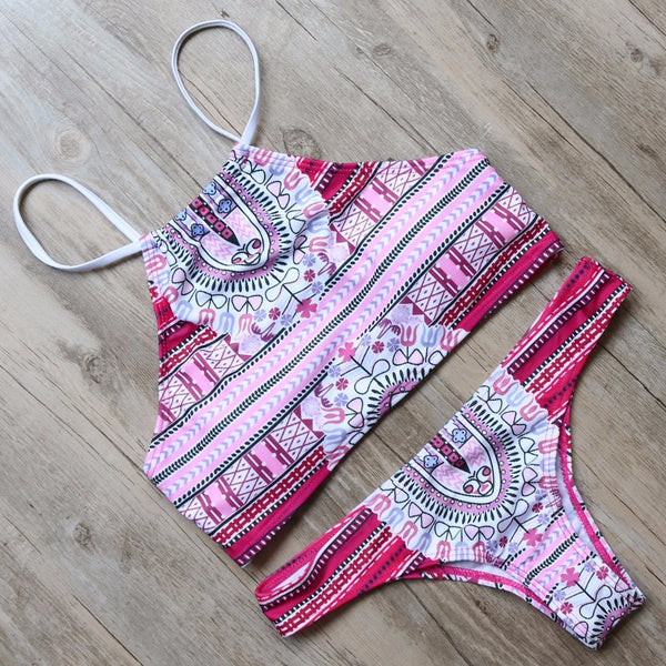 SEXY CROP TOP BIKINI SETS---Take a Sneek Peak-Many Prints available