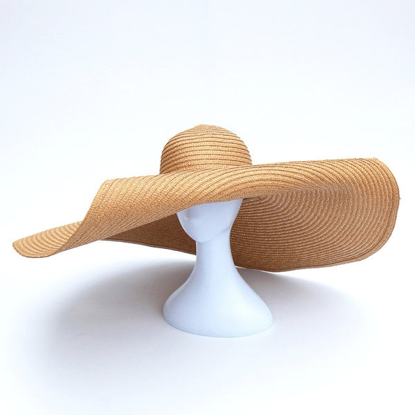 Oversized Floppy Big Beach Hat Fashion Foldable -15 colors available