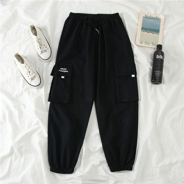 High Waist Streetwear Jogger Pants and top-Available as sets or separates