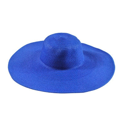 Summer Women's Ladies Foldable Wide Wide Brim Floppy Hat Beach -available in many colors