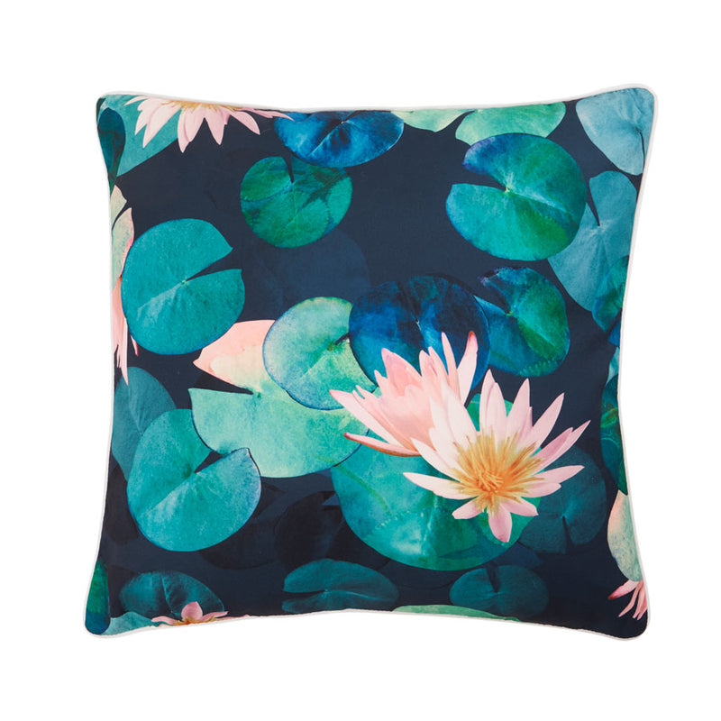 Dark Lily Outdoor Cushion | Sanctuary Studio | Oak Home Living