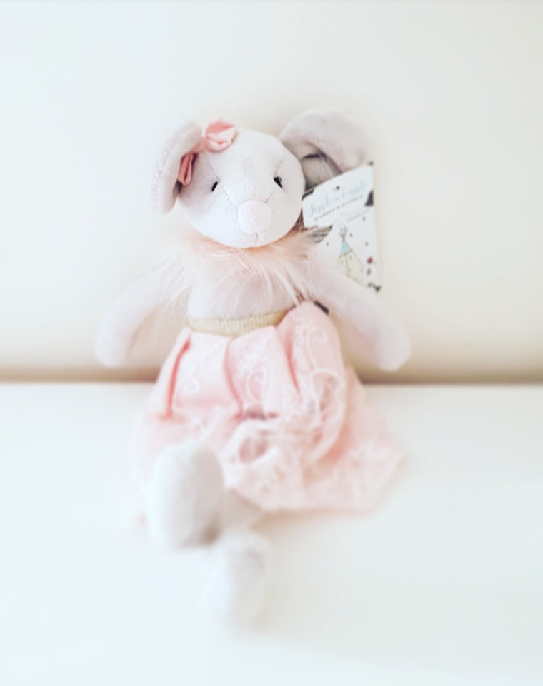 Molly Ballerina Mouse Rattle