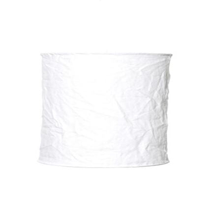 Linen Light Shade | White