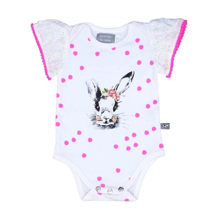 Bella Bunny Romper Girls