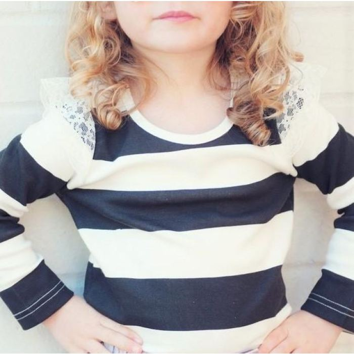 Emma Striped Top | Love Henry Childrens Clothes