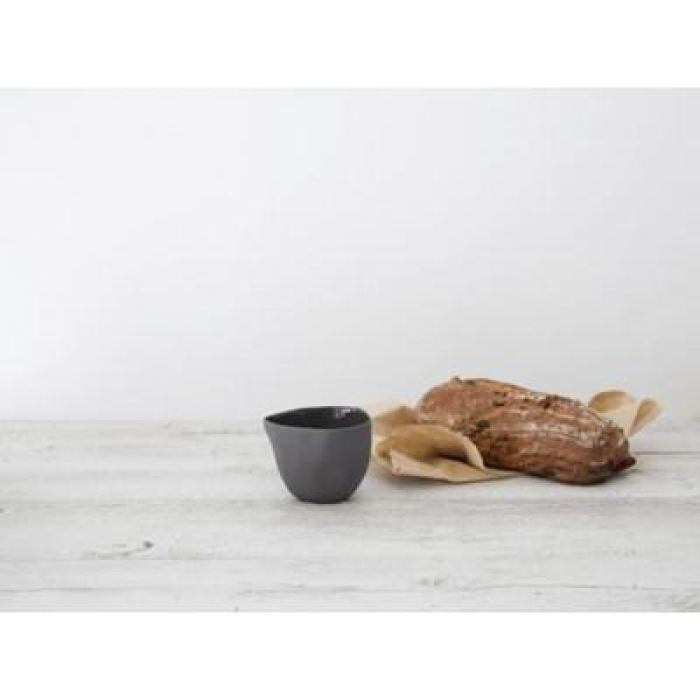 Flax Dipping Bowl | Charcoal