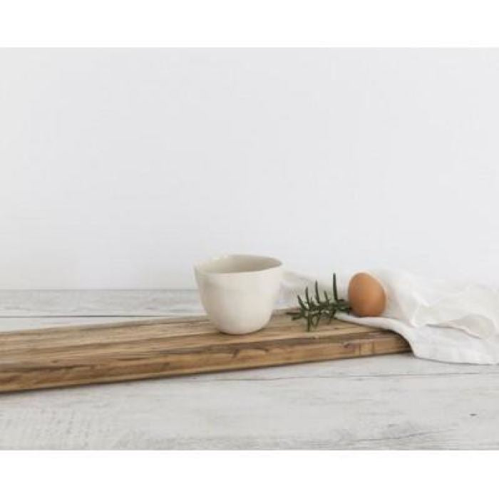 Flax Dipping Bowl | Cream Ceramics