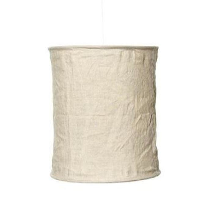 Linen Light Shade Tall | Natural